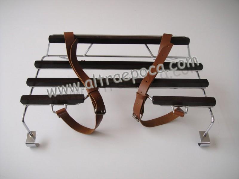 Ricambi auto portapacchi posteriore cromato con doghe in for Doghe in legno ricambi