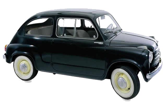 CUFFIA SEMIASSE PICCOLA FIAT 600 I SERIE 600 MULTIPLA