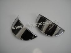 Cornice faro anteriore in acciaio cromato Autobianchi Bianchina Panoramica
